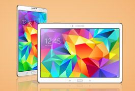 Save up to £50 on the super-fast Samsung Galaxy Tab S