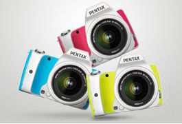 Introducing the new Pentax K-S1 digital SLR camera for great colour shots