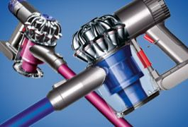 Dyson V6 - the latest cordless technology