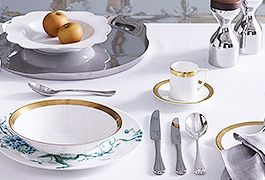 Timeless tableware for an elegant dining experience