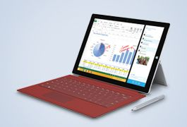 Save up to £250 on a Microsoft Pro 3 tablet