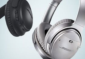Bose QC35 noise-cancelling headphones