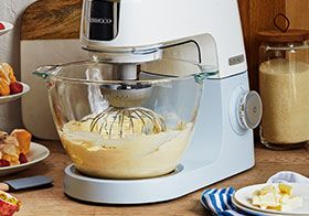 Food mixers for the perfect baking session