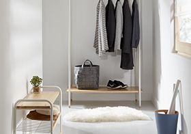 Smart hallway storage solutions