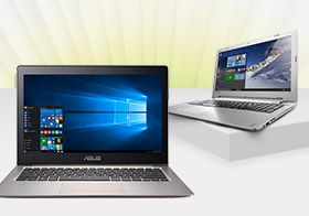New Lenovo and Asus laptops