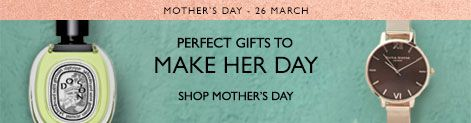 Perfect gifts for Mother's Day - 26 March