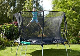 It's playtime - 20% off trampolines