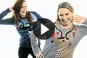 Christmas jumpers video