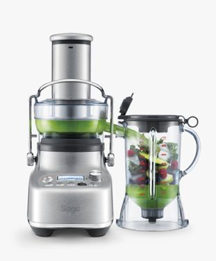 Blend and juice your fresh ingredients for delicious smoothies and more with the Sage 3X Bluicer Pro?