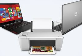 Save up to £300 and receive a printer with selected HP laptops