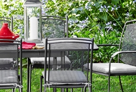 Garden furniture for outdoor entertaining