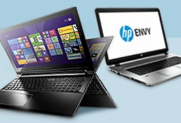 Save up to £200 on selected HP and Lenovo laptops