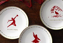 Celebrate with Christmas tableware