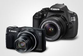 Up to £150 cashback on selected Canon cameras