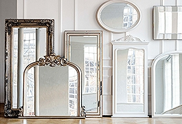 Take a peek at our mirror collection