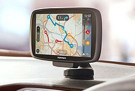 Navigate yourself round the world with new Sat Navs from Garmin and Tom Tom with life time maps