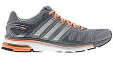 Adidas Women's Adistar Boost Running Shoes, Grey/Orange