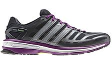 Adidas Women's Sonic Boost Running Shoes, Night Shade/Vivid Pink/Tech Silver