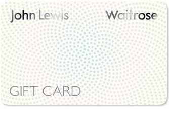 Front of the John Lewis Partnership Gift card