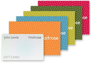 John Lewis Partnership gift cards and wallets