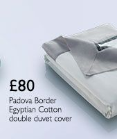 John Lewis Padova Border Egyptian Cotton Bedding