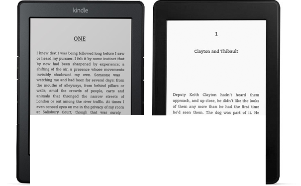 Kindle and Kindle Paperwhite
