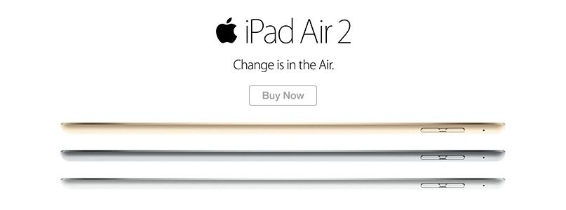 iPad Air 2 - Change is in the Air.