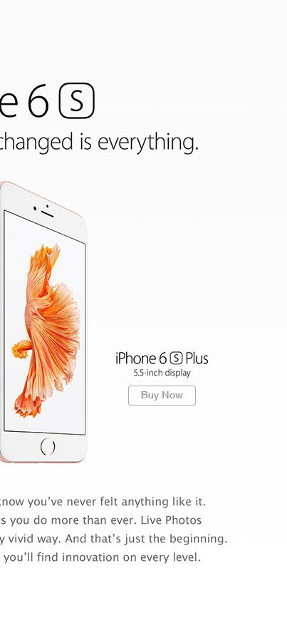 Find out more about the iPhone 6s John Lewis