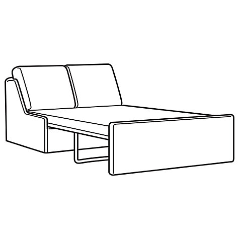 Buy John Lewis Jessie Sofa Bed, Oslo Stone Online at johnlewis.com