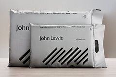 John Lewis delivery packaging
