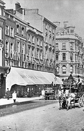 View of John Lewis, Oxford Street, circa 1905