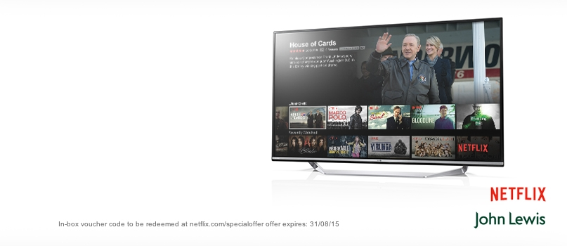 6 months Netflix 4K Ultra HD