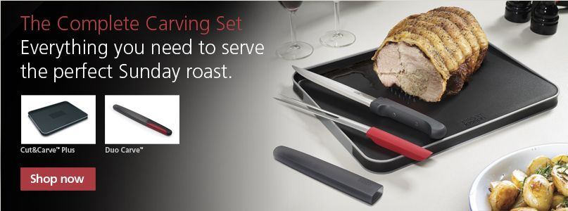 The complete carving set - everything you need to serve the perfect sunday roast