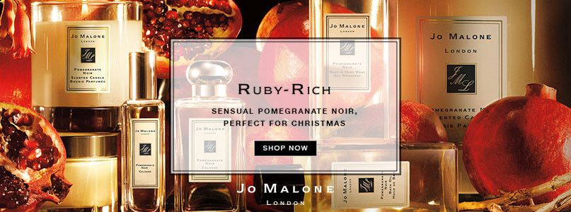 Ruby rich - sensual pomegranate noir, perfect for christmas