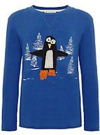 Kids Company Penguin Long Sleeved Top