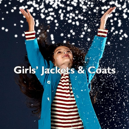 Girls' jackets and coats