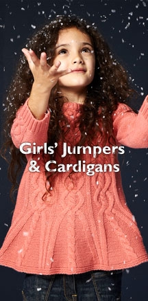 Girls' Jumpers & Cardigans
