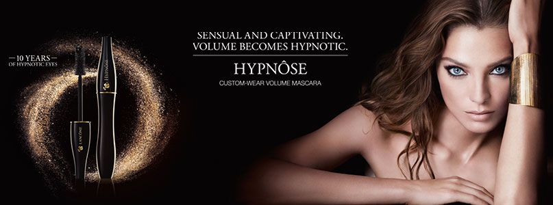 HYPNOSE, 10 years mascara , sensual and captivating volume becomes hypnotic
