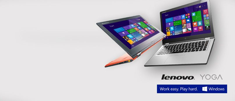 Lenovo YOGA adapts to you