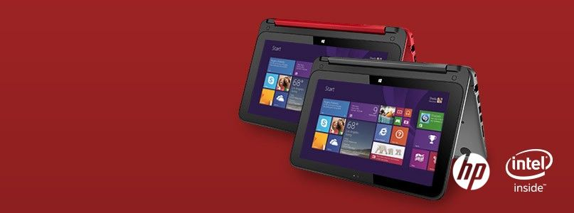 2-in-1 tablet and laptop