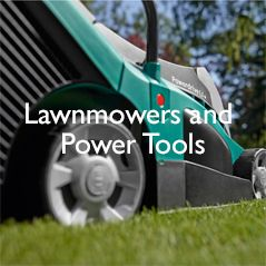 Lawnmowers and Power Tools