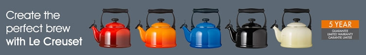 Create the perfect brew with Le Creuset