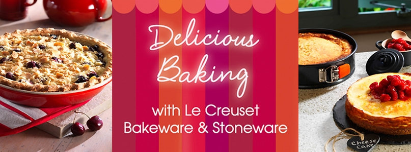 le creuset delicious baking