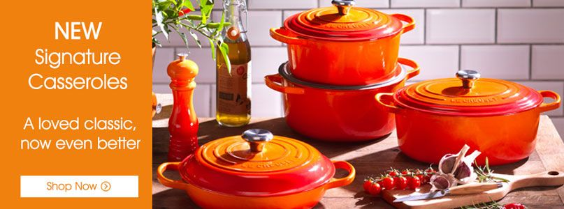 Le Creuset Prepare, signature casseroles