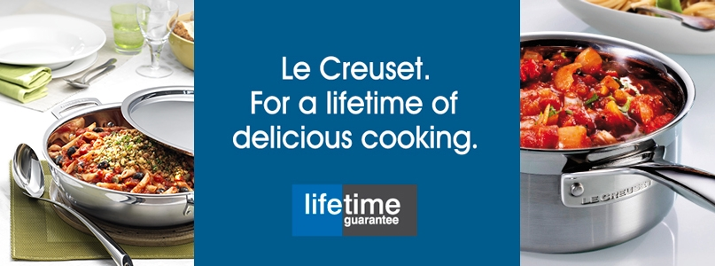 le creuset a lifetime of delicious cooking