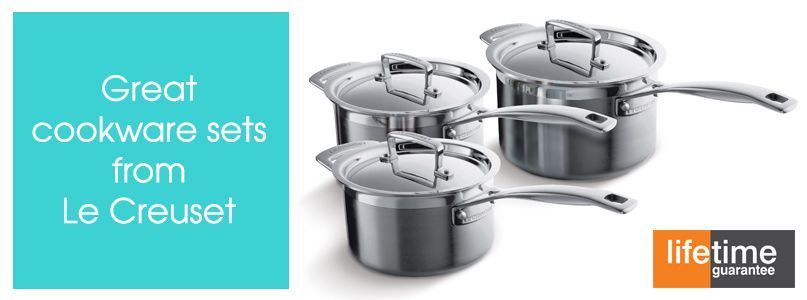Great Cookware Sets from Le Creuset