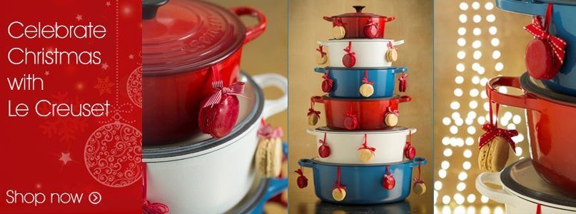 Celebrate Christmas with Le Creuset