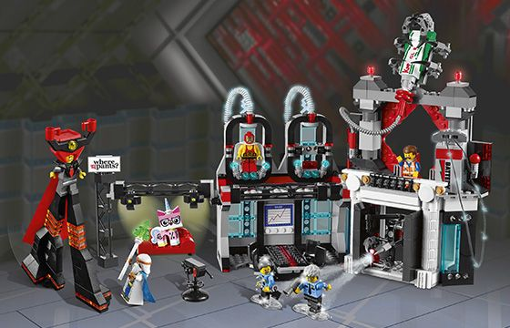 LEGO Movie Lord Business' Evil Lair