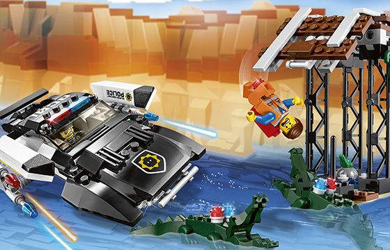 LEGO Movie Bad Cop's Pursuit