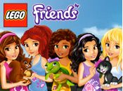 Go to the LEGO Friends section